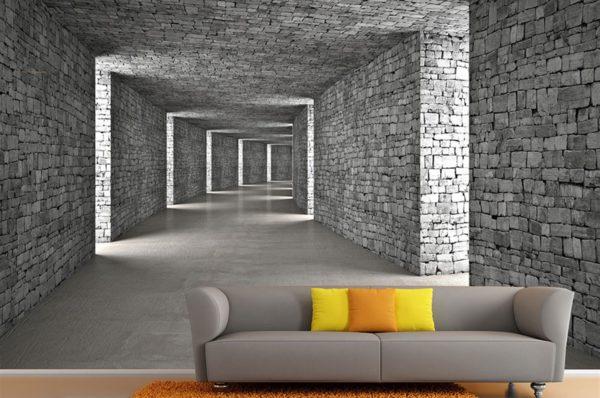 Yeni Nesil 3 Boyutlu Duvar Kağıtları Nasıl Kullanılır?